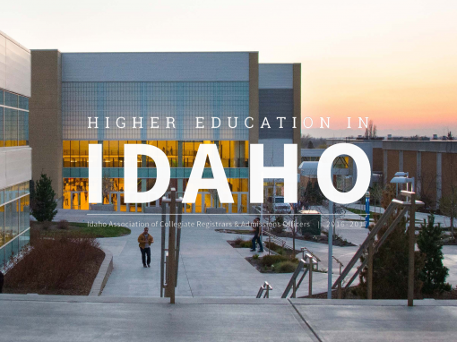 Higher Education In Idaho